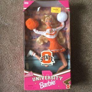 1997 Oklahoma St. Cheerleader Barbie